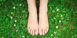نرم وملائم خوبصورت پاؤں کا راز