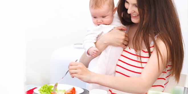 10 foods for Breastfeeding moms