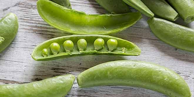 various health problems and green peas