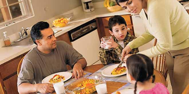 encourage your kid to like home food