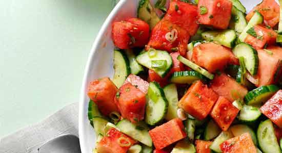water melon salad