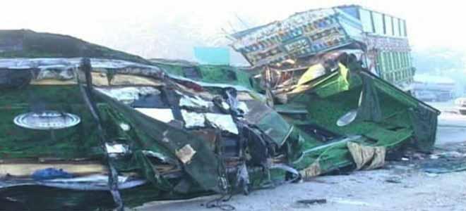 Khairpur: Road Accident Leaves 57 Dead