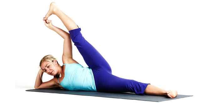 Perfect pelvic region shape up: the Side Reclining leg Lift