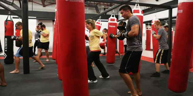 Need an effective way to lose weight Try kickboxing