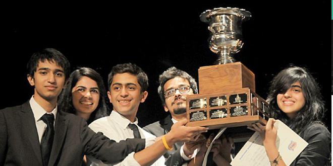 Pakistani students win debate competition