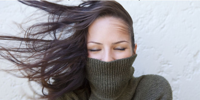 10 tips to protect your hair against winter