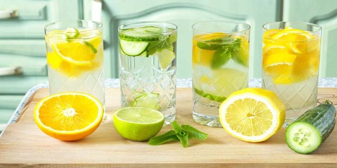 summer refreshing drinks