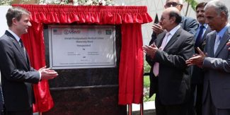 CM inaugurates USAID funded Maternity ward at JPMC