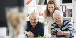 'Playful' videogames can help fight depression in seniors