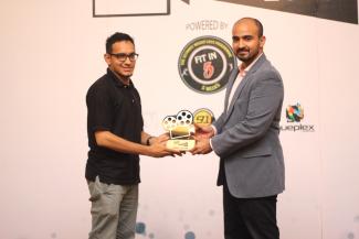 Wahaj Hashmi (Unilever) and Faizan S. Syed (CEO HTV)