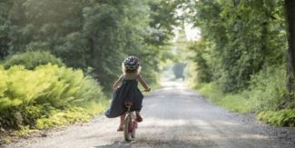 Cycling from young sets us in motion till later on in life