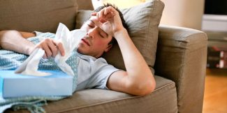 People who lack sleep are more likely to catch colds