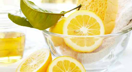 Use Lemon Juice instead of Bleach