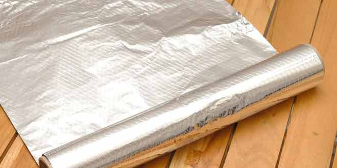 9 Cool Uses of Aluminium Foil you Didn't Know