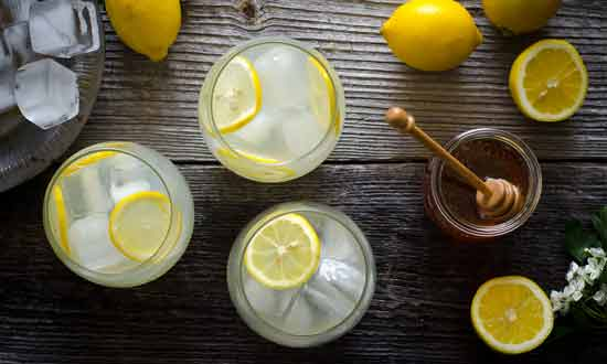 Healthy Skin with Lemons