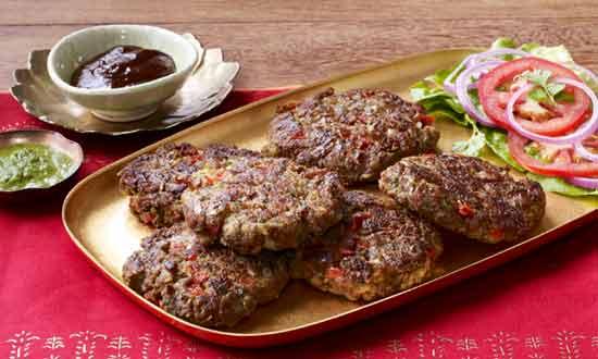 Beef Chapli Kebabs