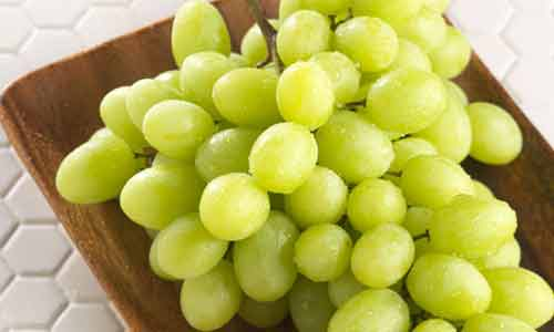Glowing Skin with Grapes