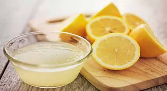 Lemon Juice for Bleeding Gums