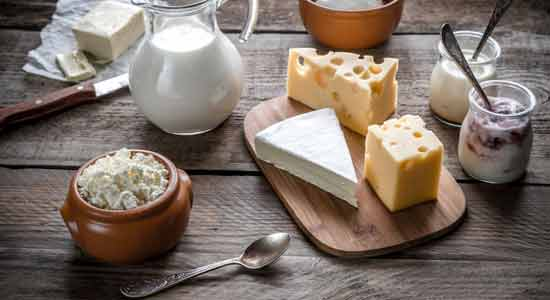 Dairy Products that may Cause Acidity