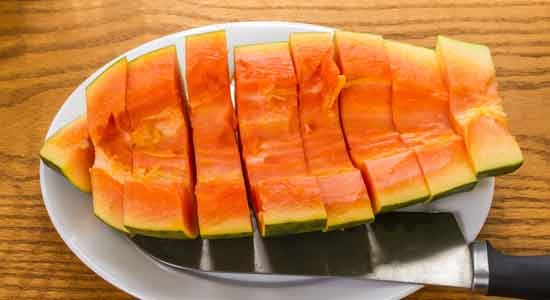 Unripe Papaya to Boost Breast Milk Production