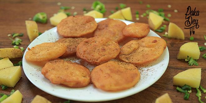 Aloo Pakora or Potato Pakora