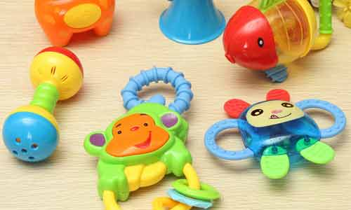 Rattle Toys to learn child