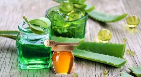 Aloe Vera helps lighten blemishes