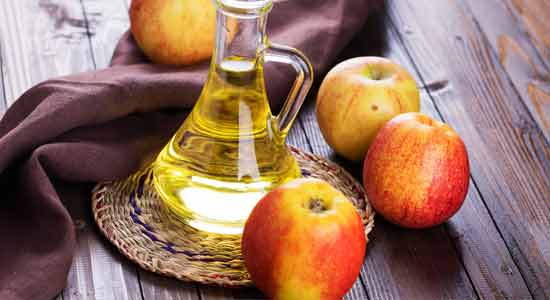 Apple Cider Vinegar Treat Dry and Cracked Heels at Home
