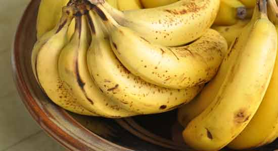 Bananas to Recover Iodine Deficiency
