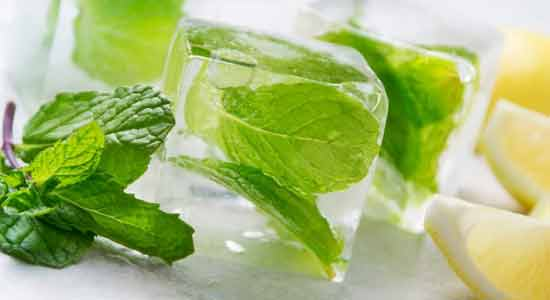 Get rid of all the black heads by applying crushed mint leaves