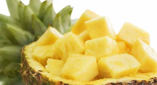Pineapple to Recover Iodine Deficiency