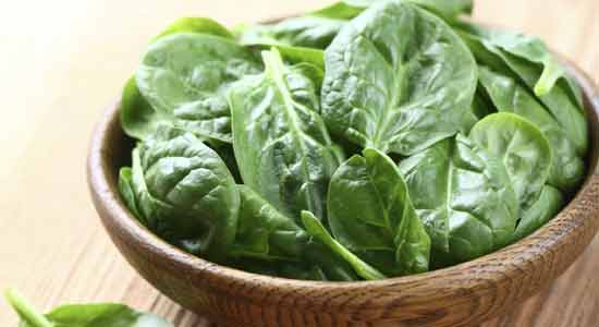 Spinach to Recover Iodine Deficiency