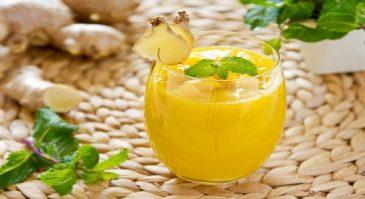 Mango Ginger Turmeric Smoothie