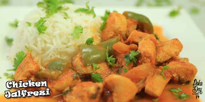 Chicken Jalfrezi Htv