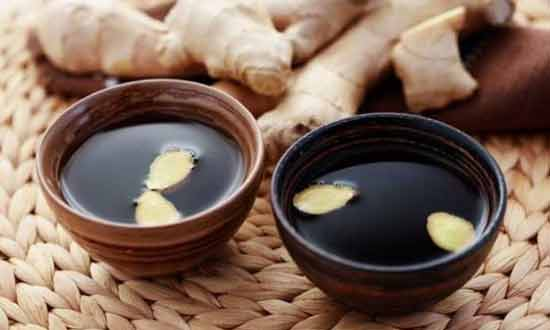 Ginger Tea with Dried Dates Best Foods to Eat Before Bed