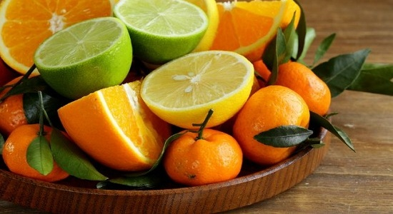 don't eat citrus-fruits on an empty stomach