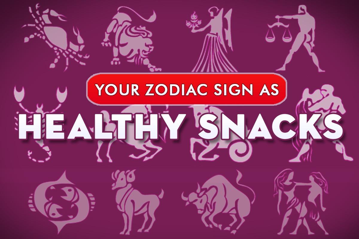 zodiac sign-healthy snacks