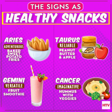 Healthy Snacks According To Your Zodiac Sign - HTV