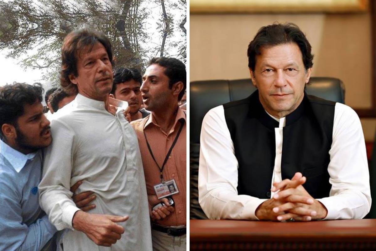 Imran Khan, ten year challenge